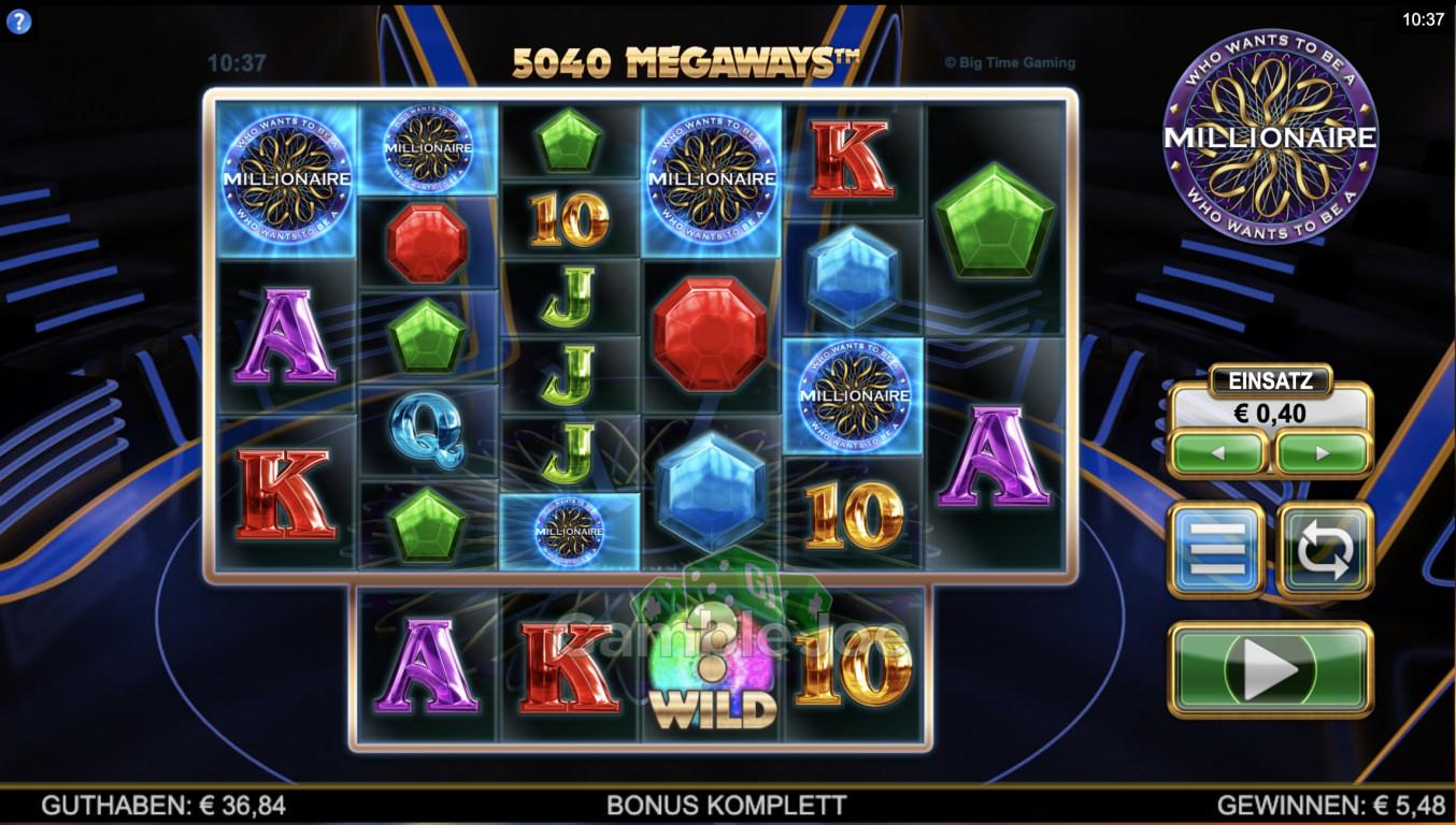 Who Wants to Be a Millionaire Gewinnbild von SimonHell