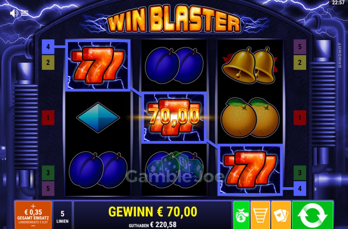 Win Blaster Gewinnbild von KarloKrasso