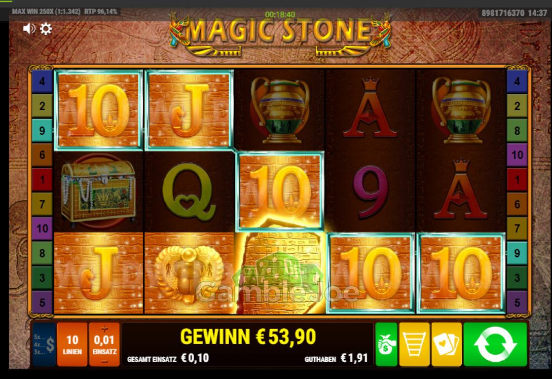 Magic Stone Gewinnbild von myring42