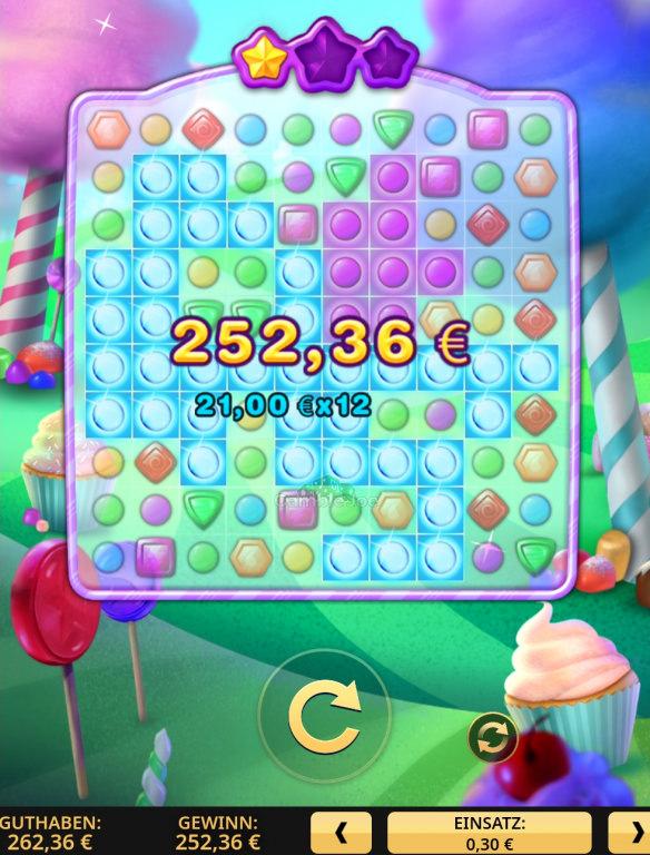 Candy Prize Gewinnbild von Decori86