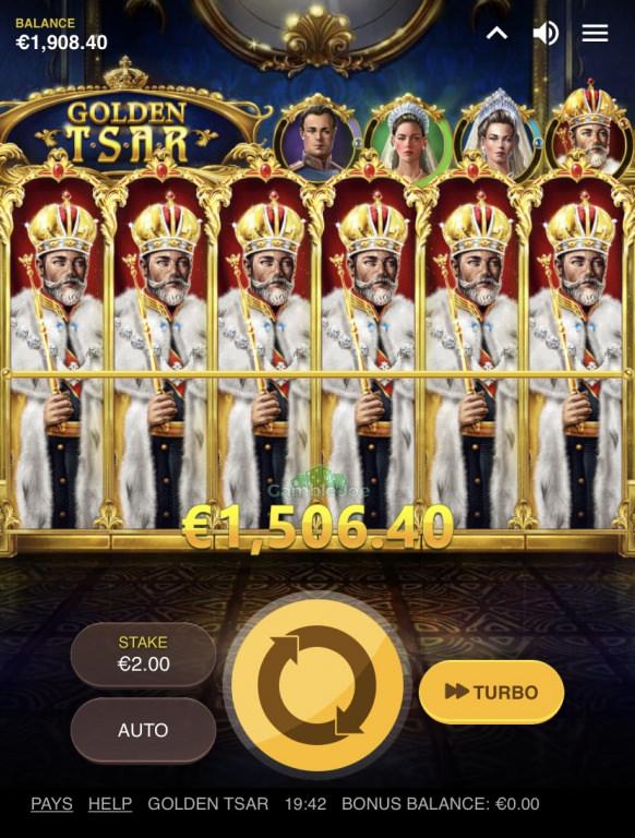 Golden Tsar Gewinnbild von Gurkensalat