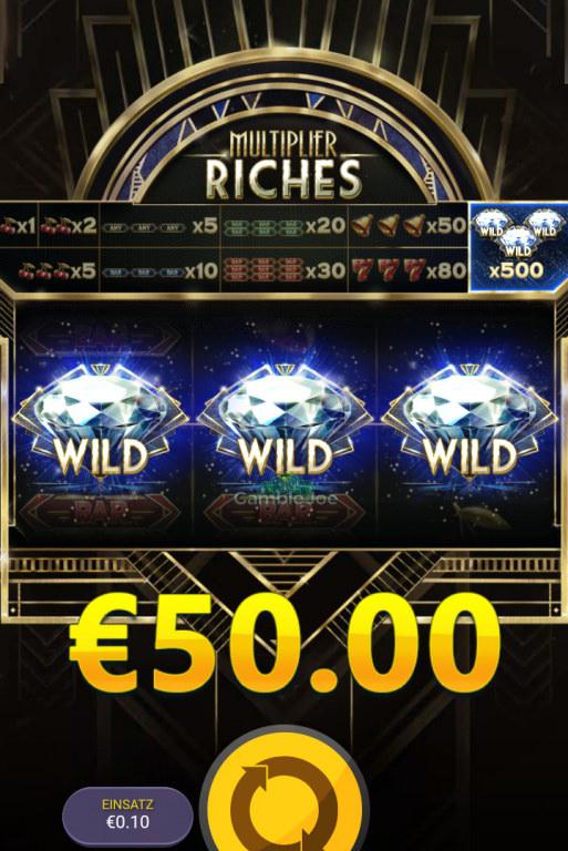 Multiplier Riches Gewinnbild von roccoammo11