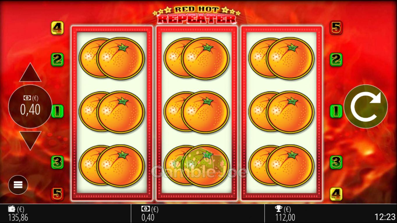 Red Hot Repeater Gewinnbild von roccoammo11