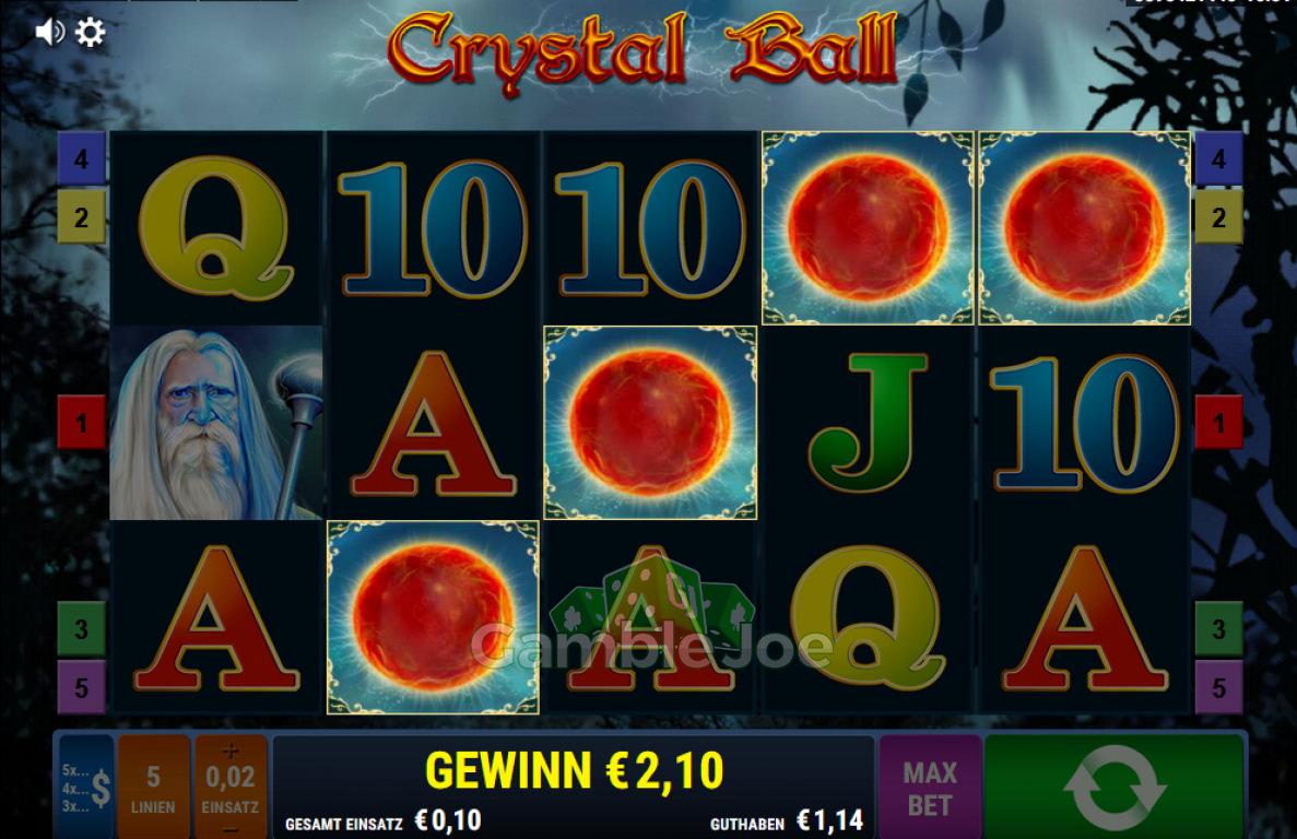 Crystal Ball Gewinnbild von Herould