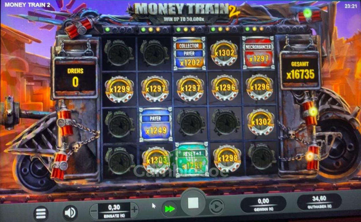 Money Train 2 Gewinnbild von Sekurija