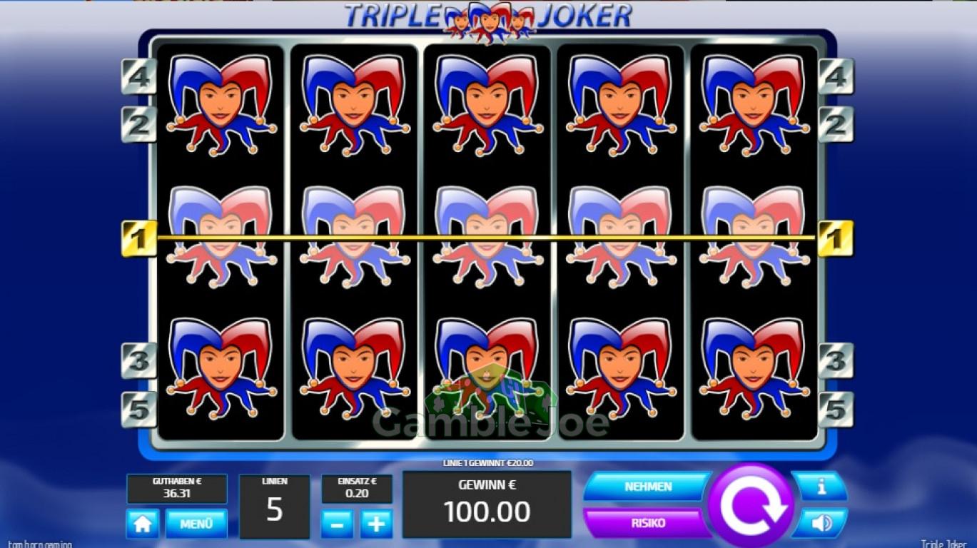 Tripple Joker Gewinnbild von garfield68