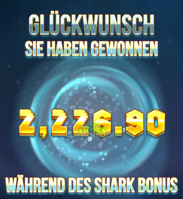 Razor Shark Gewinnbild von Goeki72