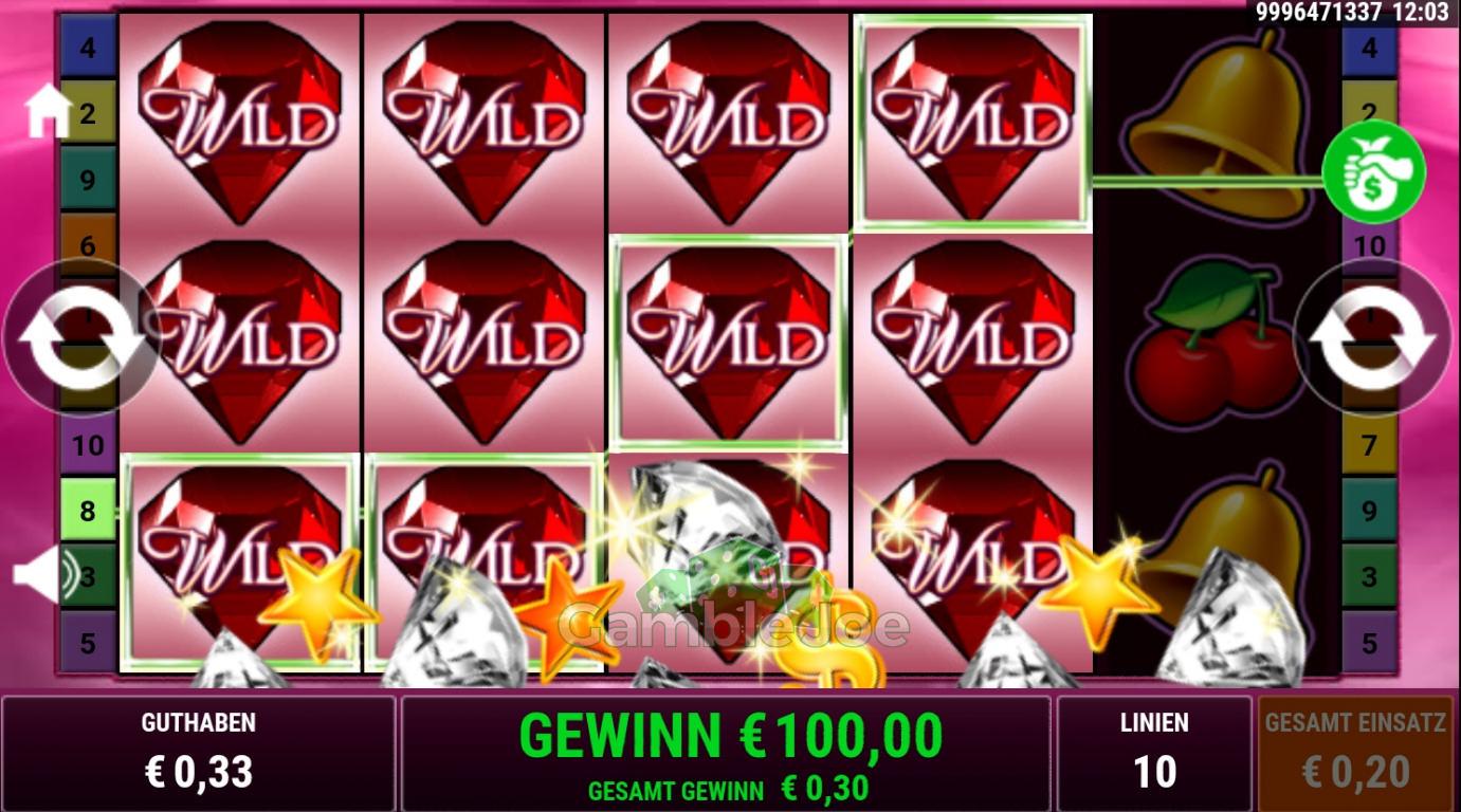 Wild Rubies Gewinnbild von Mine050981