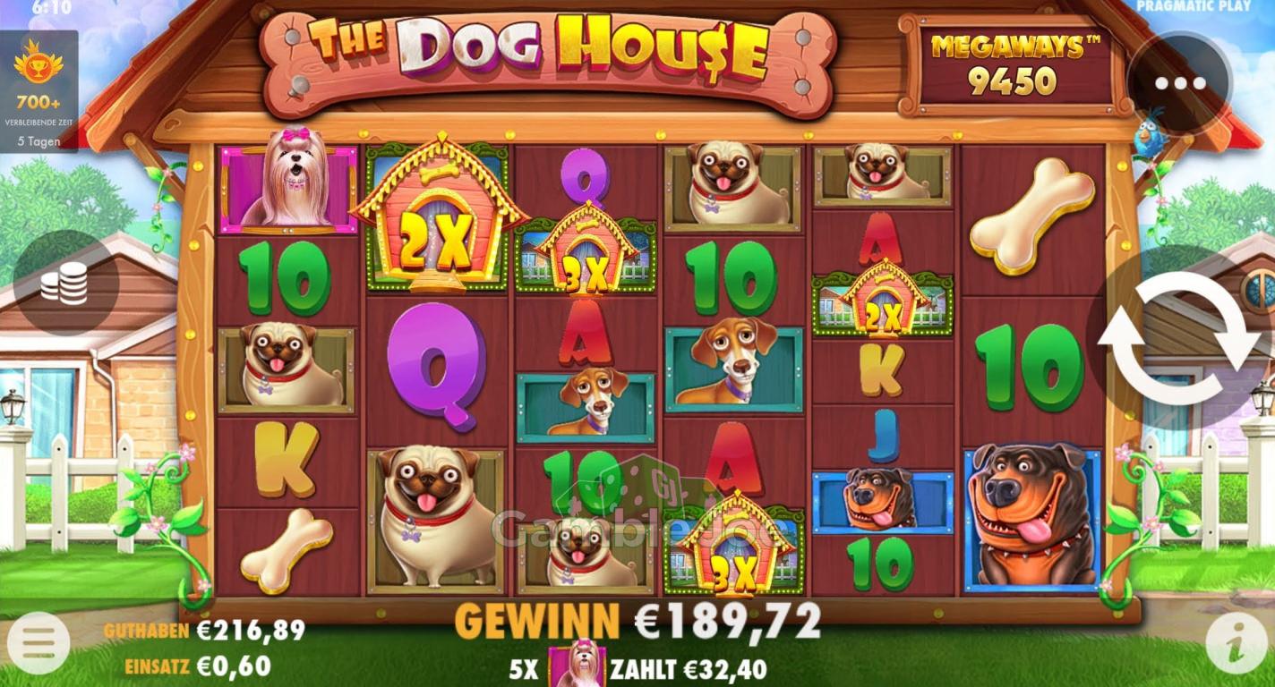 The Dog House Megaways Gewinnbild von Timko12