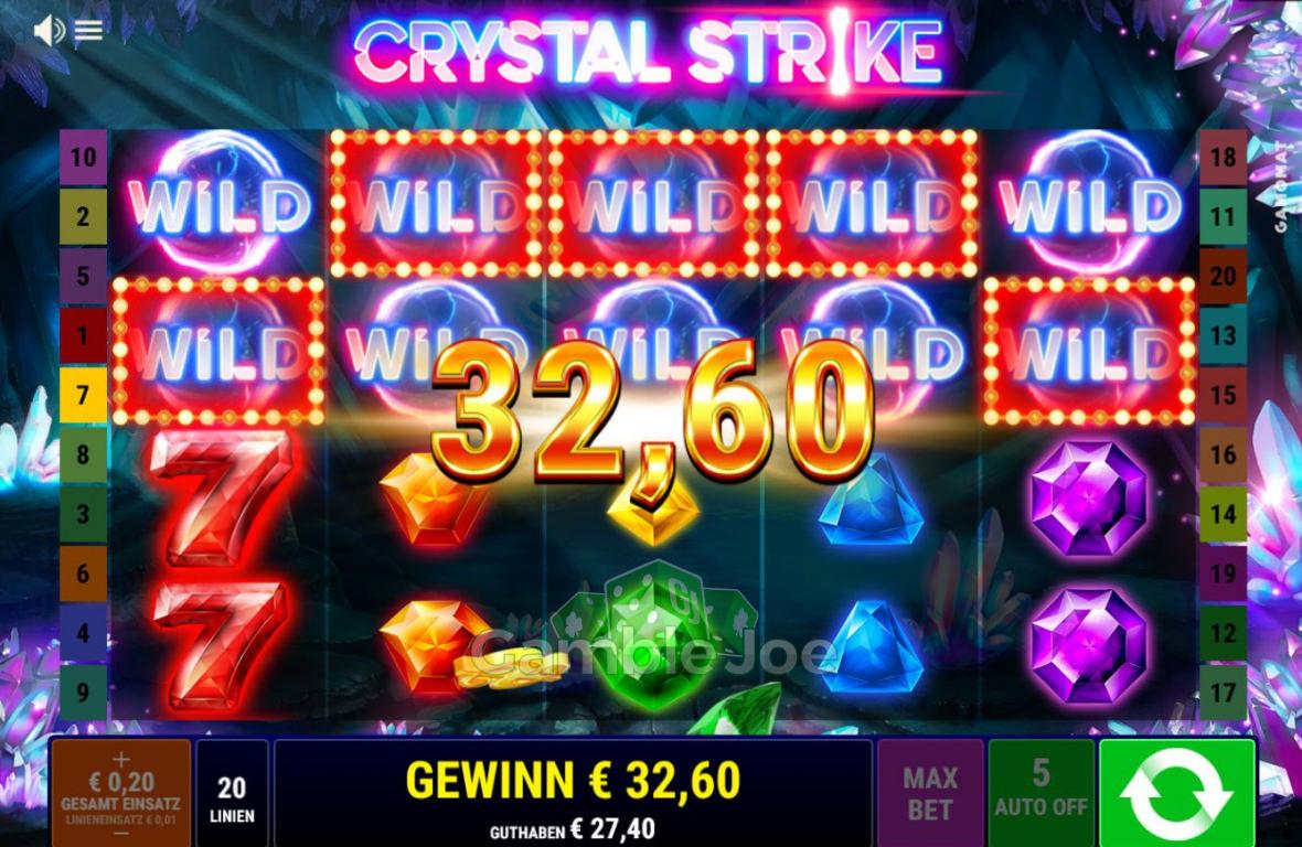 Crystal Strike Gewinnbild von FlyHigh52