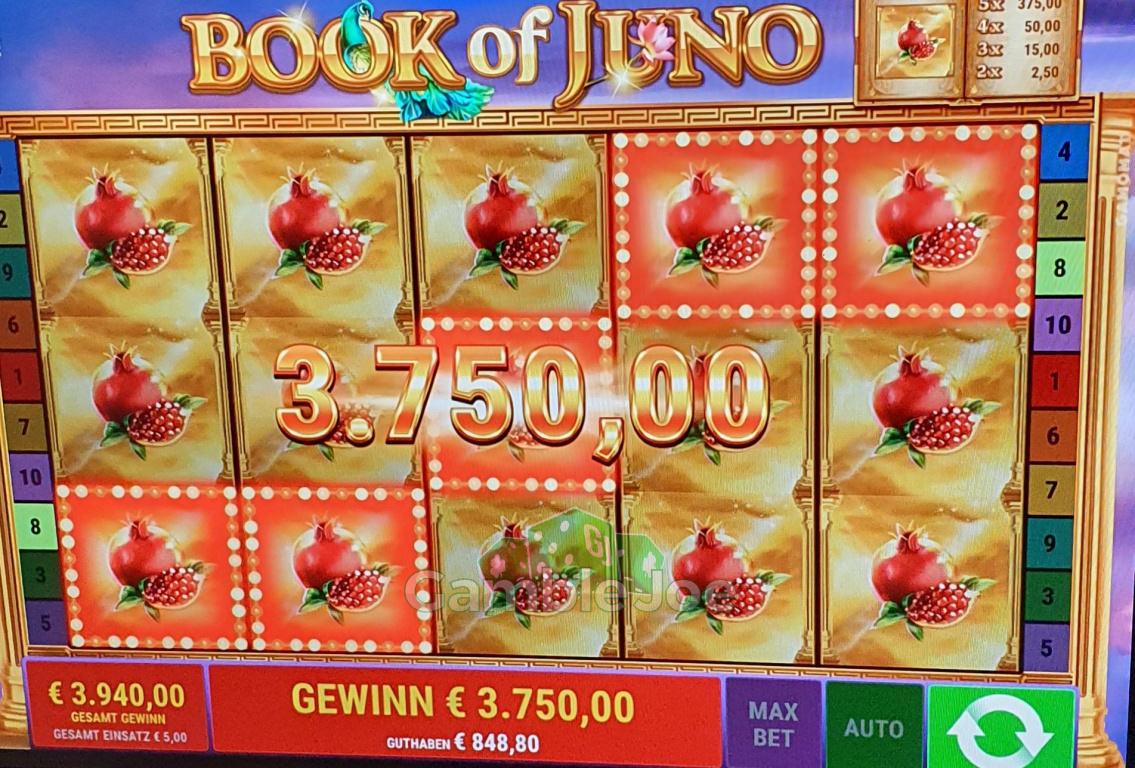 Book of Juno Gewinnbild von Debra2805