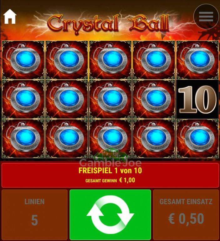 Crystal Ball Gewinnbild von faragus