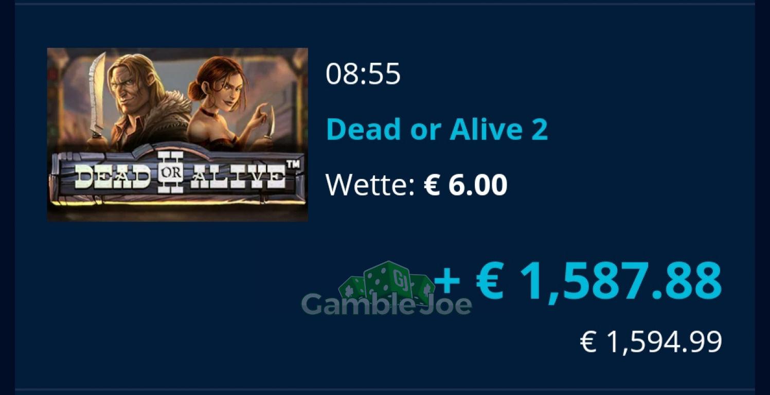 Dead or Alive 2 Gewinnbild von Ideclarewar