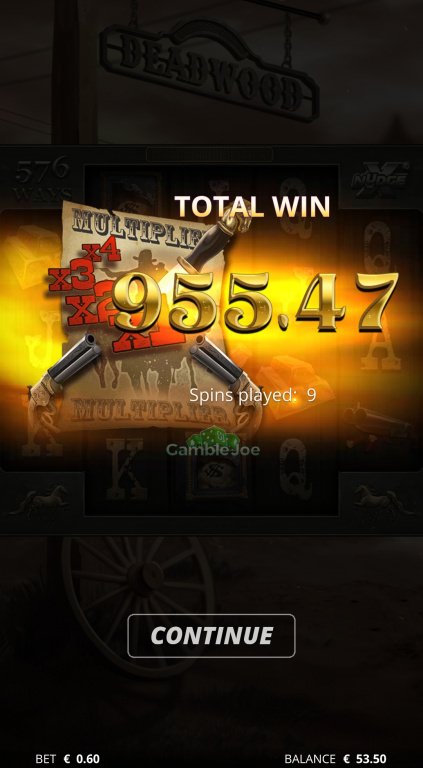 Deadwood Gewinnbild von Xestery
