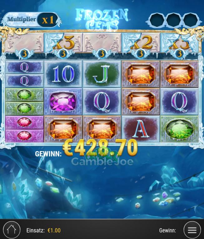 Frozen Gems  Gewinnbild von Klempo77