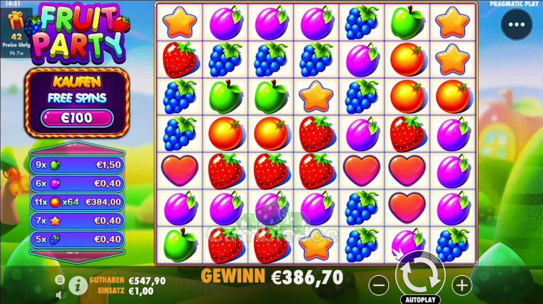 Fruit Party Gewinnbild von supermode