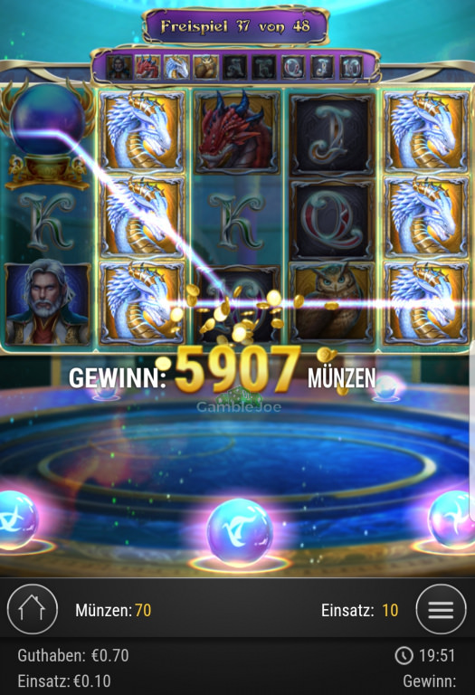 Rise of Merlin Gewinnbild von Nickii45