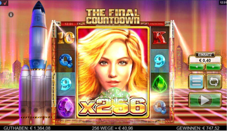 The Final Countdown Gewinnbild von killpart
