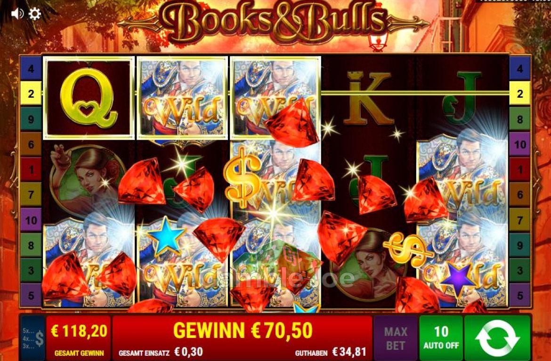 Books & Bulls Gewinnbild von FlyHigh52