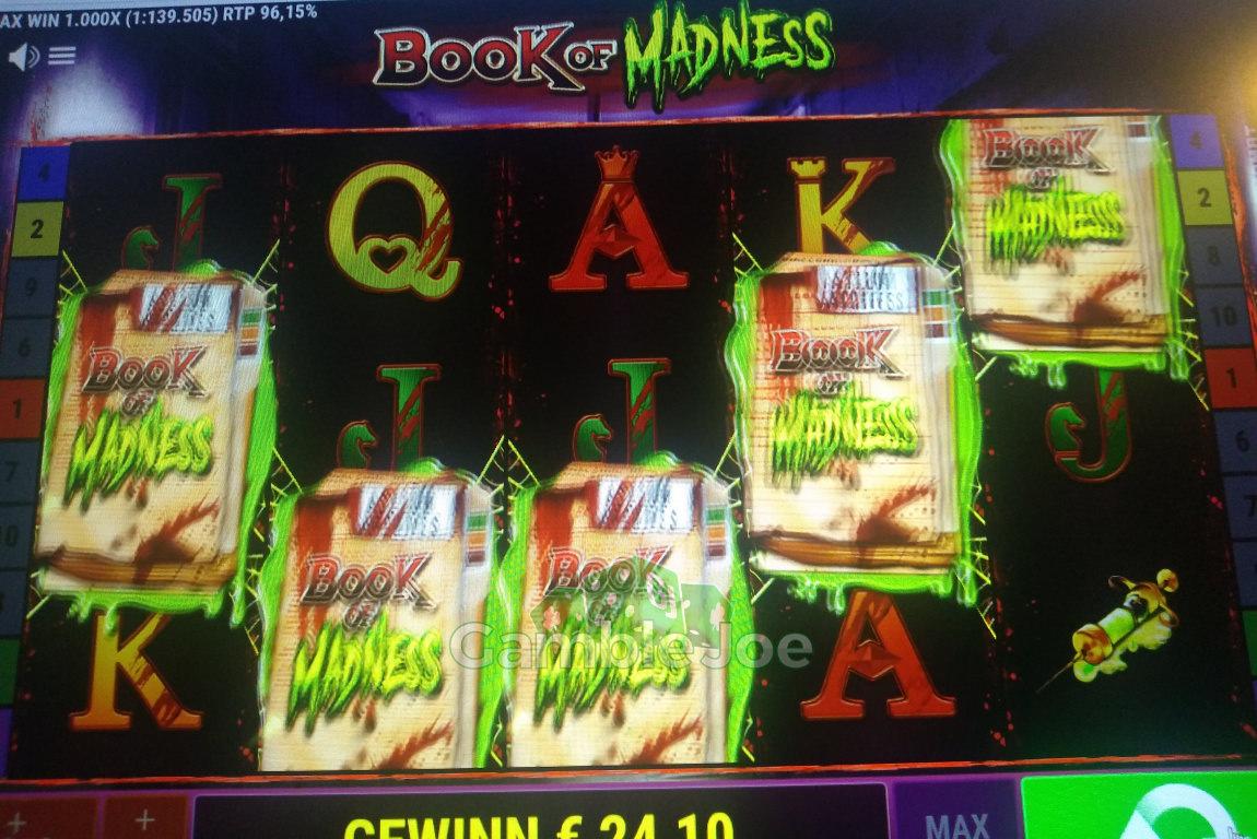 Book of Madness Gewinnbild von Hightower