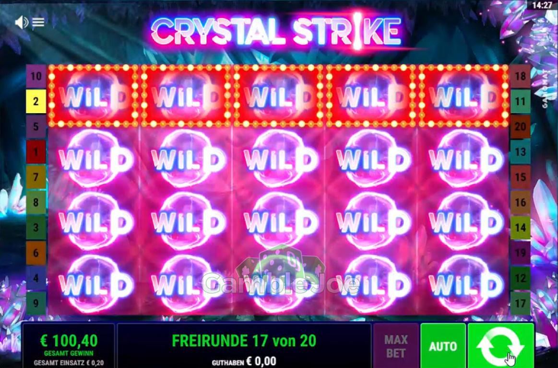 Crystal Strike Gewinnbild von ShakhtarD