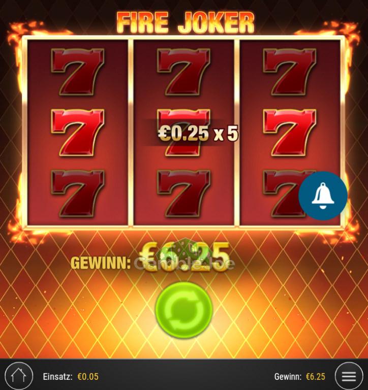 Fire Joker Gewinnbild von RuhrPottProll