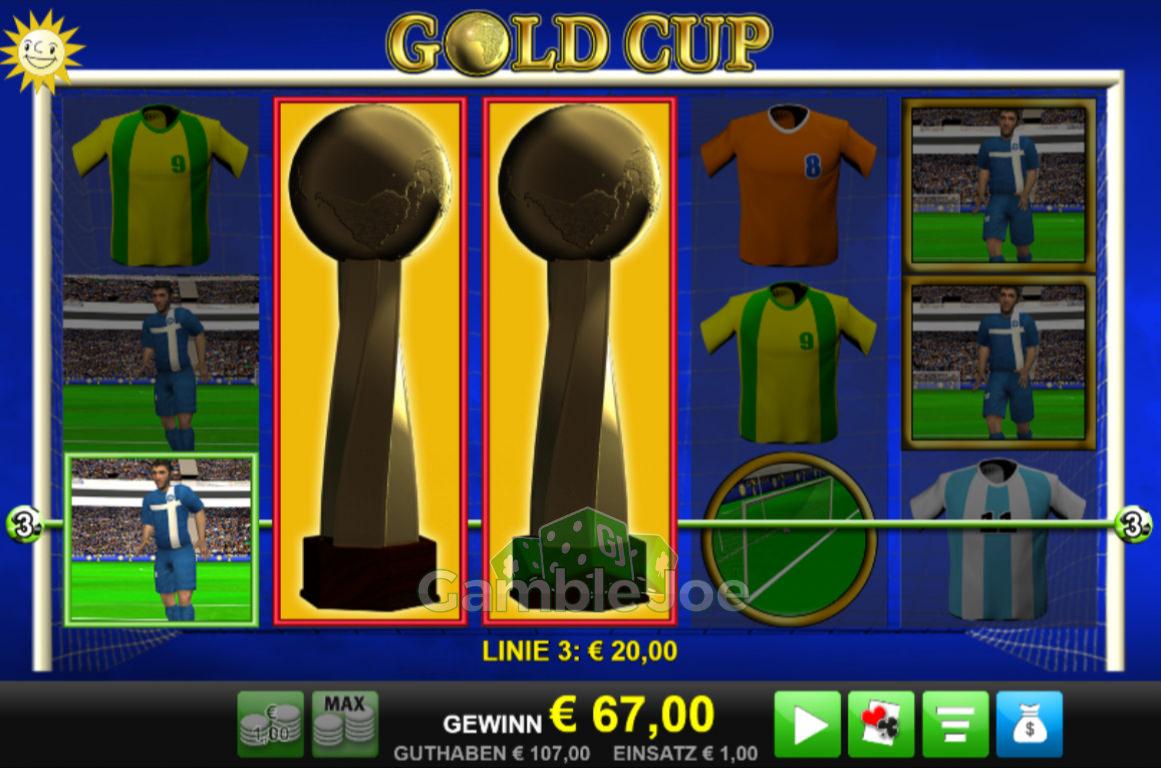 Gold Cup Gewinnbild von schwede666