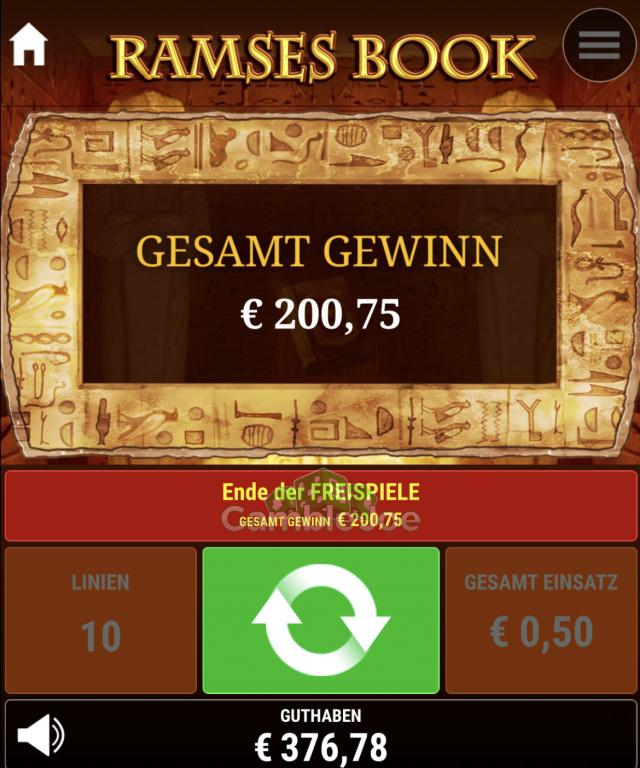 Ramses Book Gewinnbild von MrGatsby