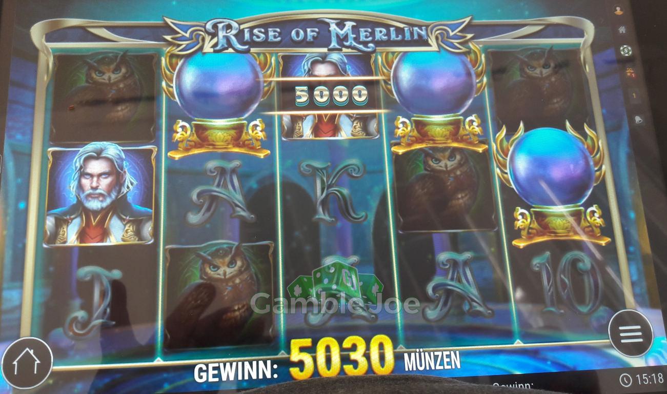 Rise of Merlin Gewinnbild von Klabisto