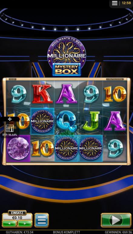 Who Wants to Be a Millionaire Mystery Box Gewinnbild von roccoammo11