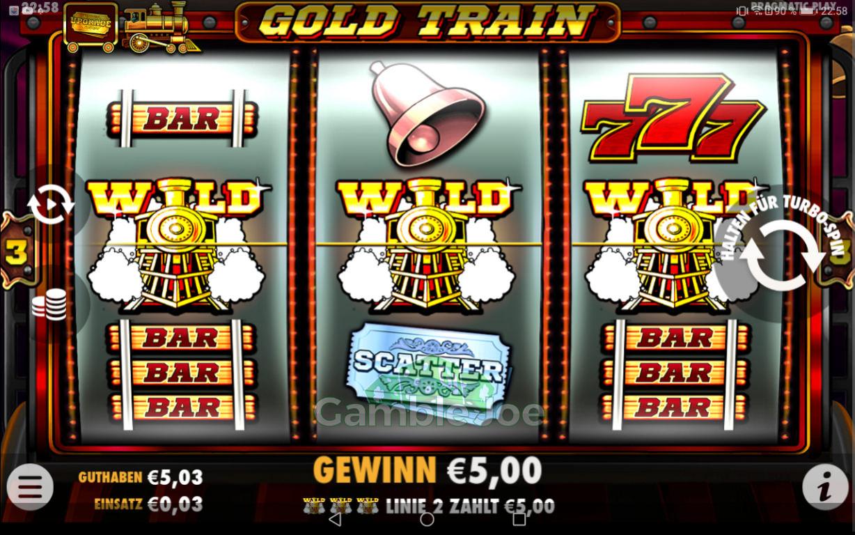 Gold Train Gewinnbild von RuhrPottProll