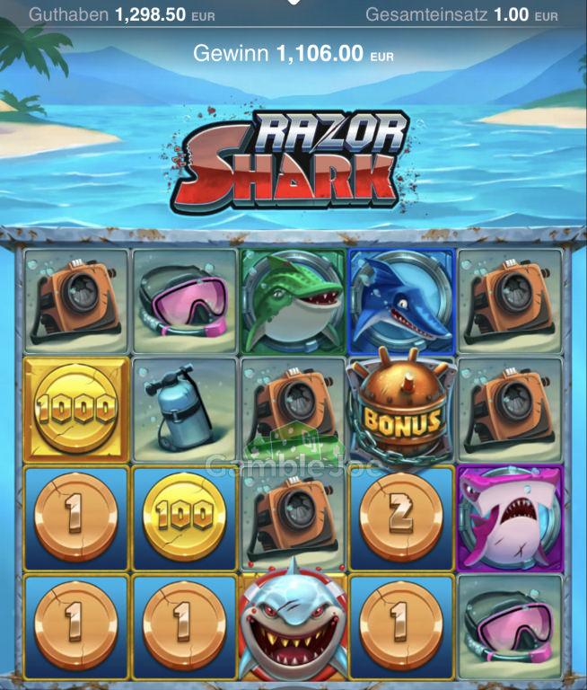 Razor Shark Gewinnbild von Jakim
