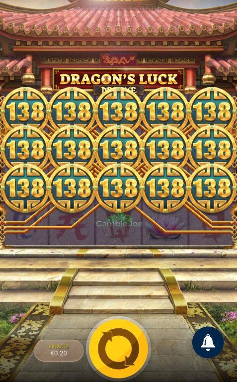 Dragon's Luck Deluxe Gewinnbild von PaYGaME