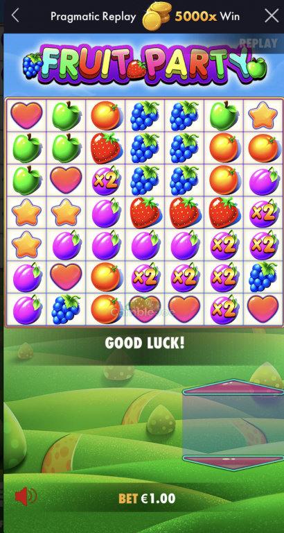 Fruit Party Gewinnbild von LsDohle