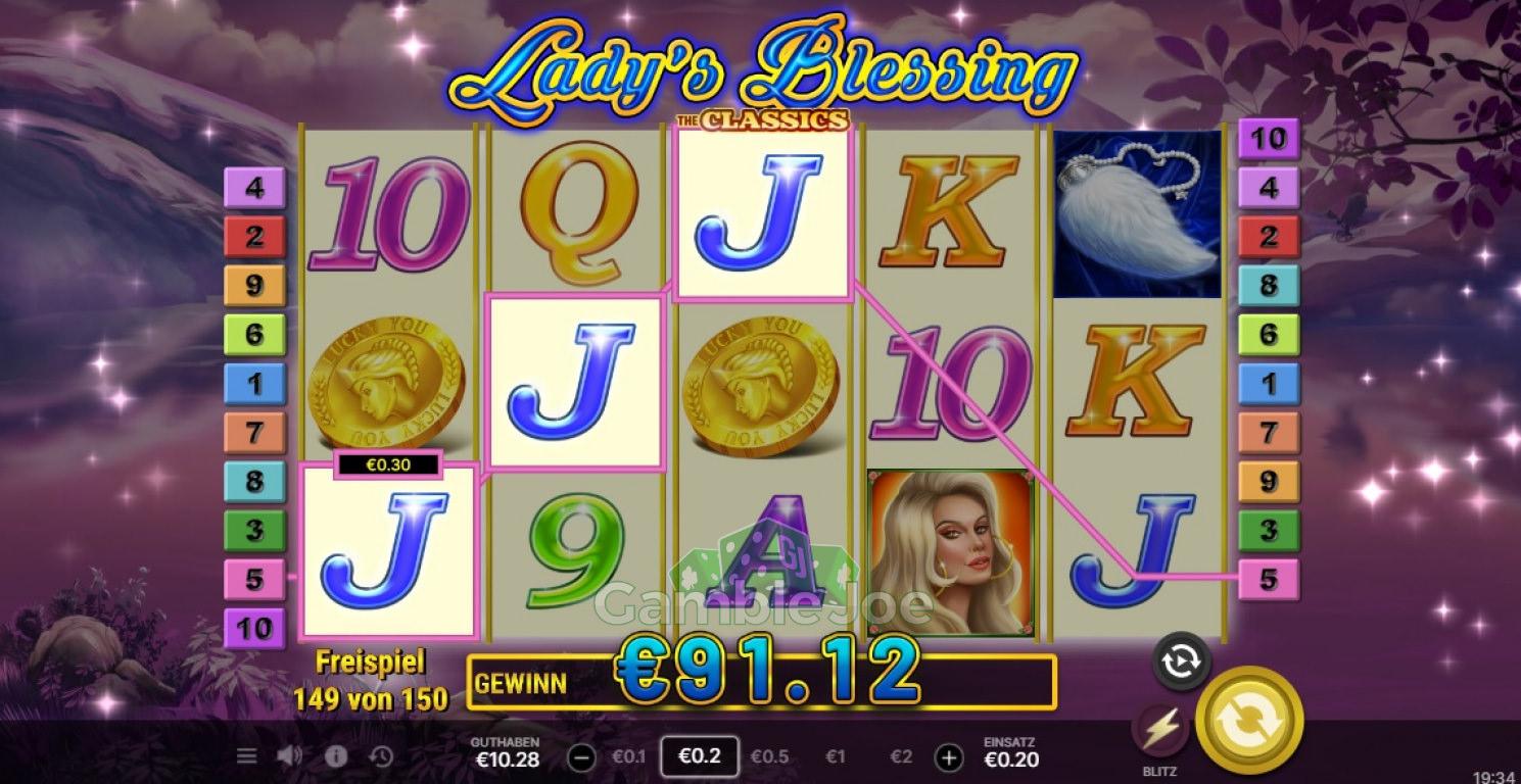 Lady's Blessing Gewinnbild von garfield68