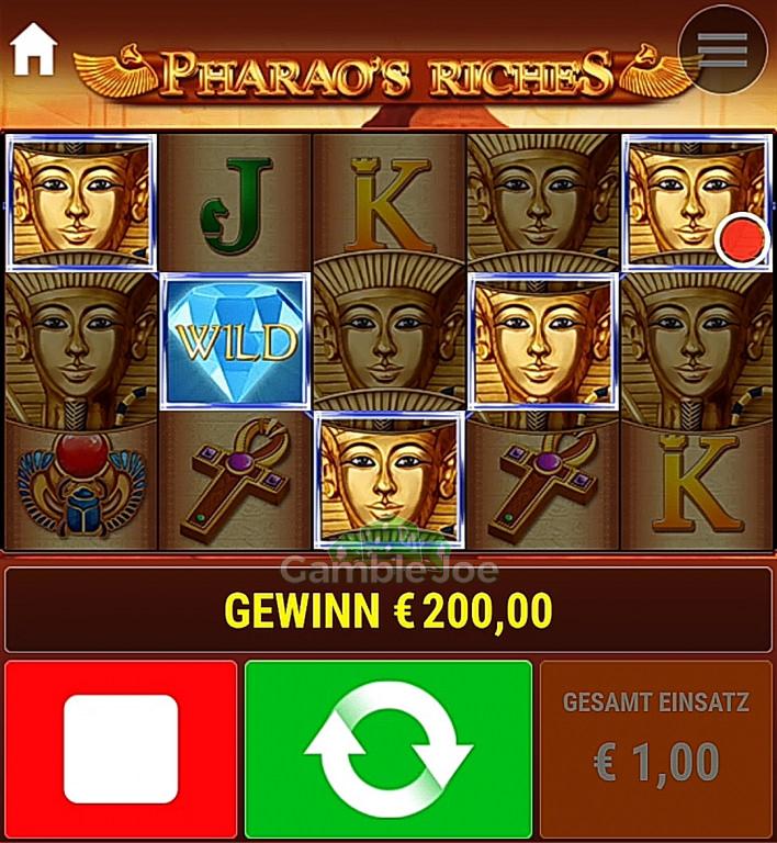 Pharao's Riches Gewinnbild von FlyHigh52