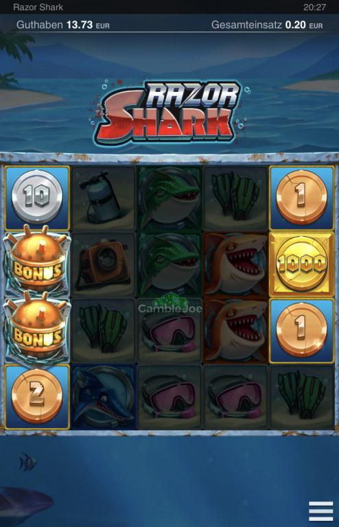 Razor Shark Gewinnbild von Dirmon51