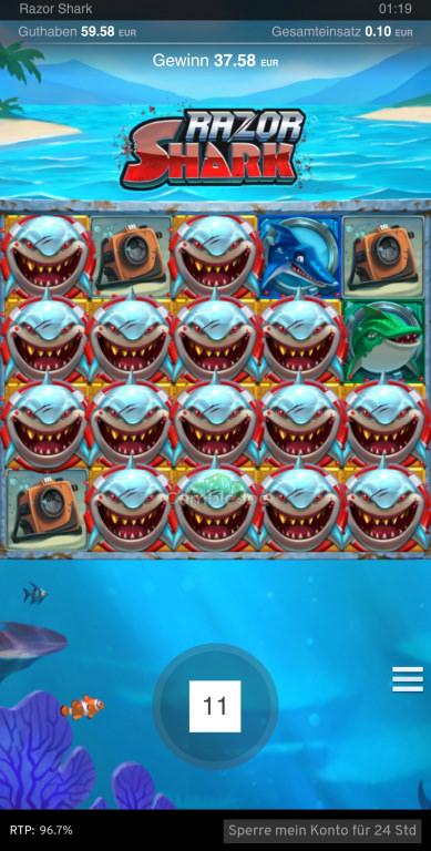 Razor Shark Gewinnbild von s1n88