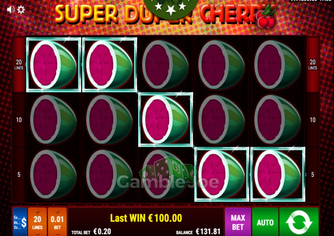 Super Duper Cherry Gewinnbild von DevinMix