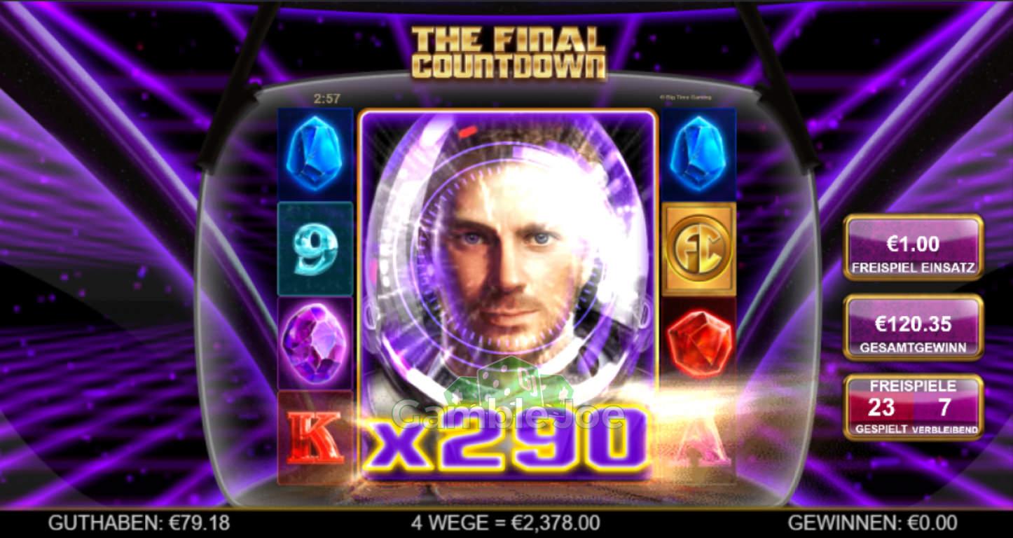 The Final Countdown Gewinnbild von Julian