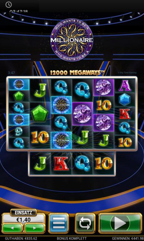 Who Wants to Be a Millionaire Gewinnbild von XXLEONIDASXX