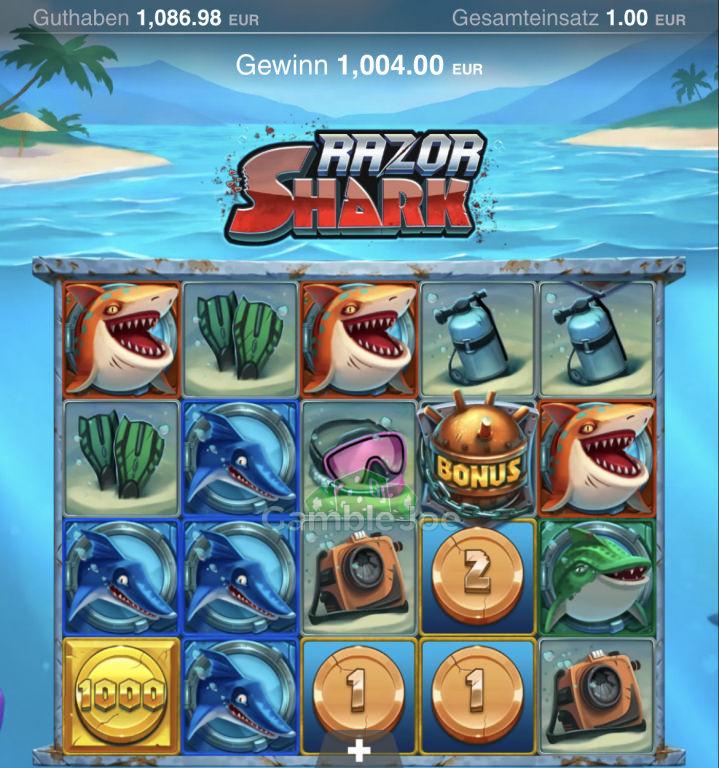 Razor Shark Gewinnbild von Nator96