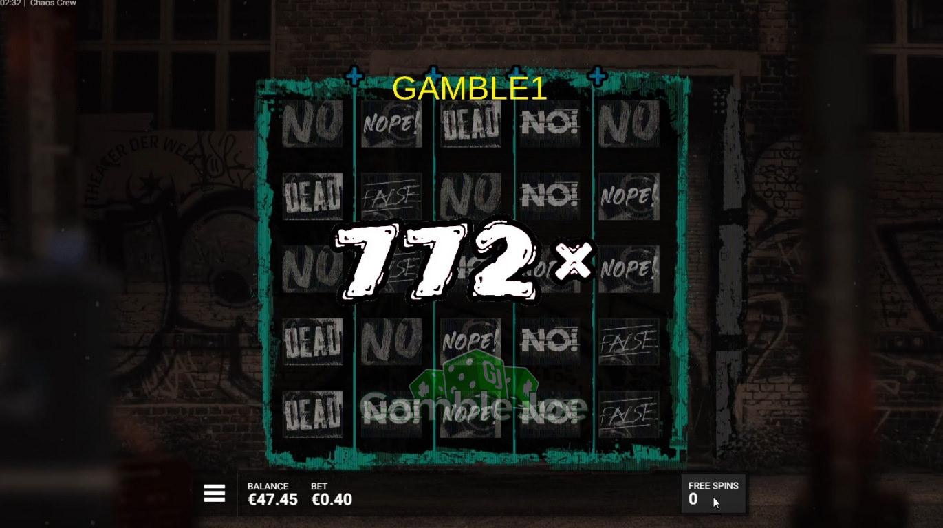 Chaos Crew Gewinnbild von gamble1