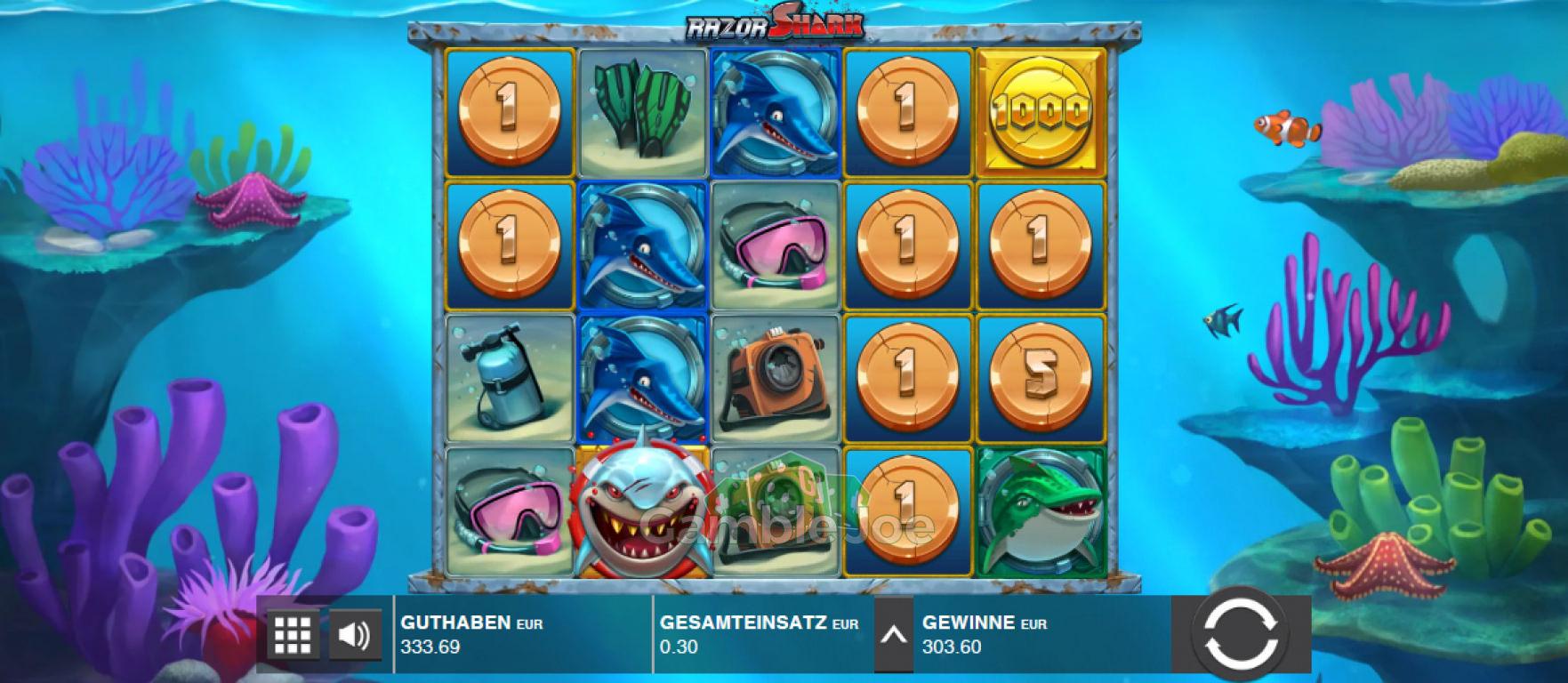Razor Shark Gewinnbild von myring42
