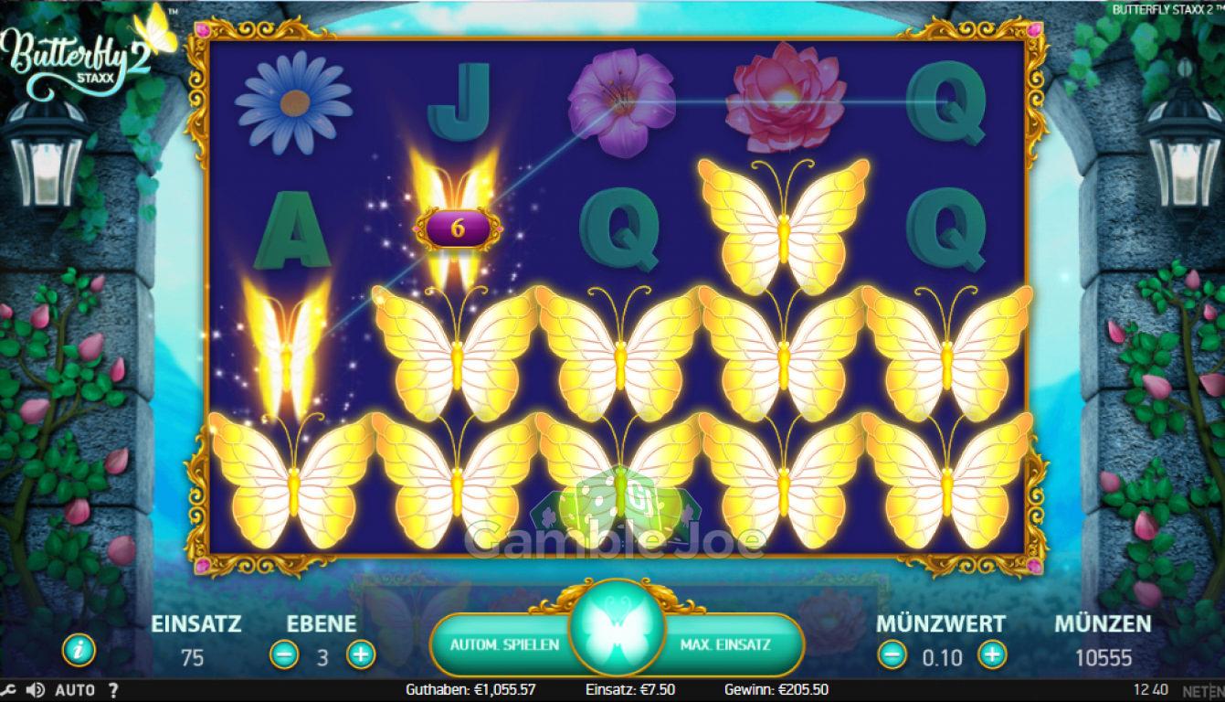 Butterfly Staxx 2 Gewinnbild von D****1