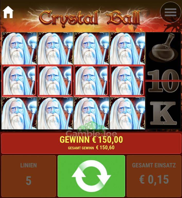 Crystal Ball Gewinnbild von destinyw_23