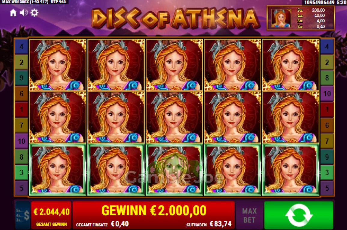 Disc of Athena Gewinnbild von Dermaurer1987