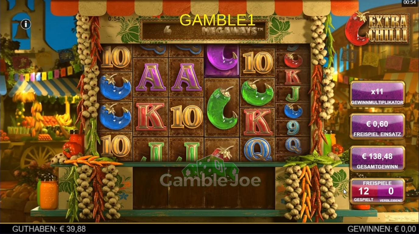 Extra Chilli Gewinnbild von gamble1