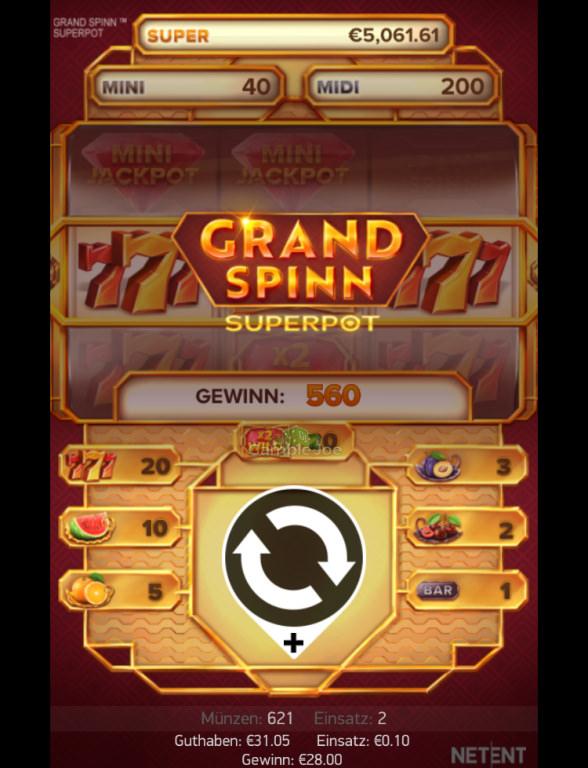 Grand Spinn Superpot Gewinnbild von snopsim