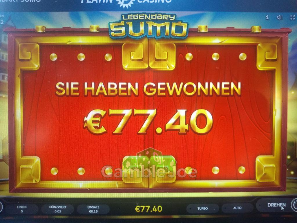 Legendary Sumo Gewinnbild von Hightower